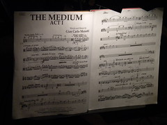 Partitura The Medium