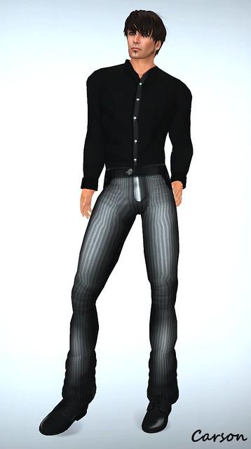 _b[ELLE] - Vest Suit - Grey