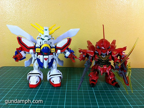 SD Archive God Gundam (26) Out Of Box Review