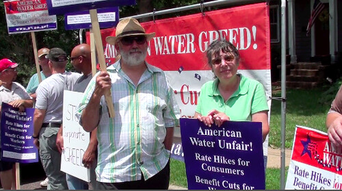 Missouri American Water Co. picket