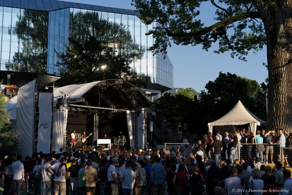 Stage of Music in the Park