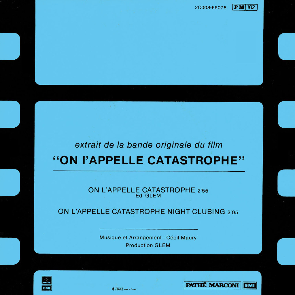 Cecil Maury - On l'appelle Catastrophe