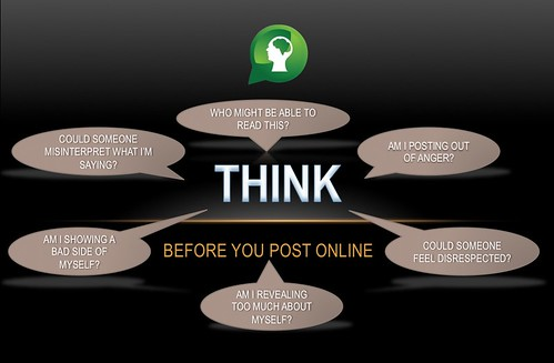 Think Before You Post by ransomtech, on Flickr