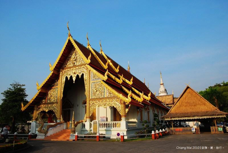 《清迈寺庙巡礼》Wat Phra Singh 帕邢寺:清迈古城内香火最鼎盛的寺庙