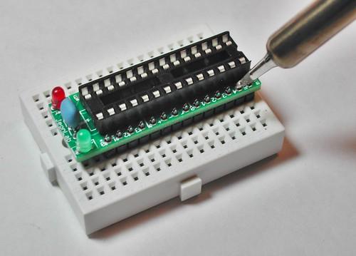 JeonLab mini v1.3 soldering header