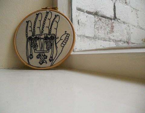 Mechanical Hand stitchery
