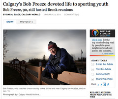 Calgary's Bob Freeze devoted life to sporting youth