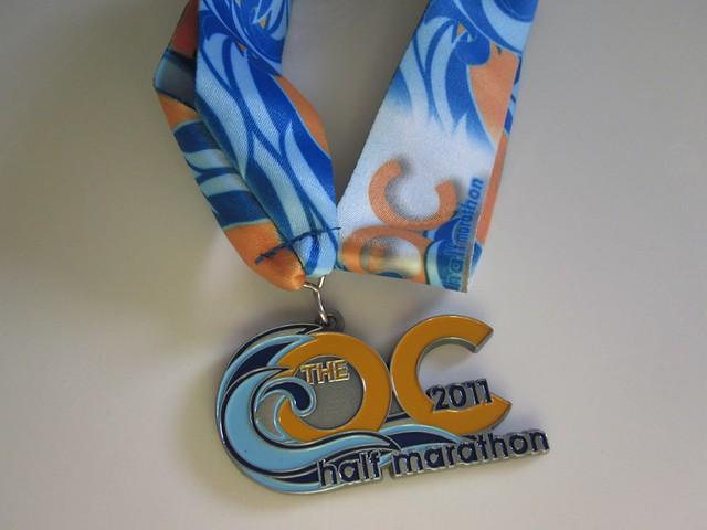 OC Half Marathon Medal