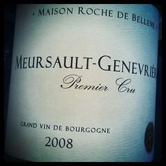 Meursault-Genevriere 1er Cru 2008 Maison Roche de Bellene