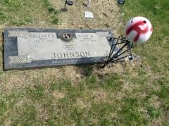 Ruby Johnson headstone