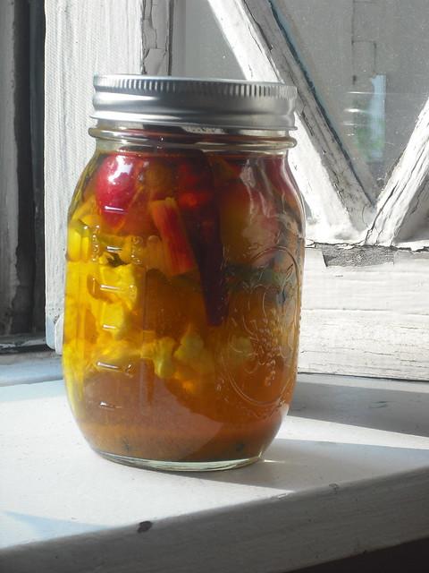 Quick Pickles: Cauliflower, Onion, Scape Mezze
