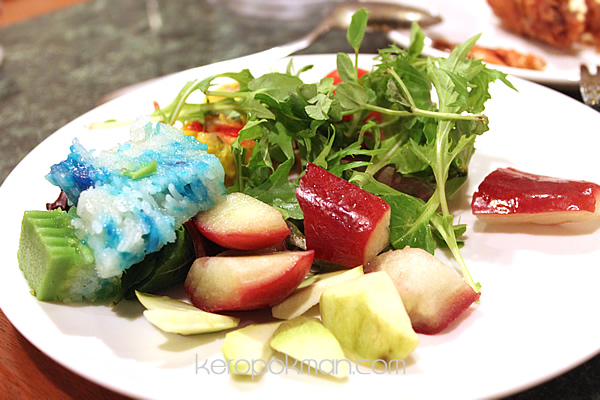 Fruits, Salads