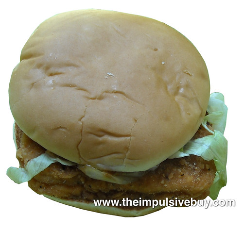 McDonald's Cheddar Onion McChicken Sandwich