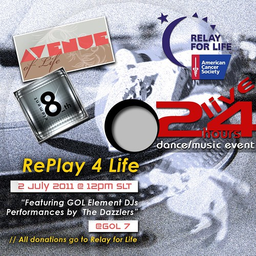 AVENUE of Life and GOL present: RePlay4Life