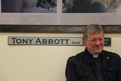 Sit-in prayer vigil for asylum seekers, at Tony Abbott's office in Sydney