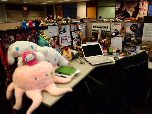 Singapore lifestyle blog, desks, messy desks, cool desks, stuffed toys, gaming company, how is it like working in a gaming company?, nadnut