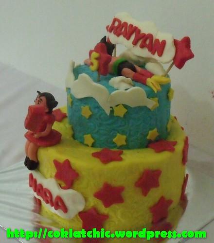 Cake Astro boy dan astro girl