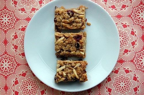 chewy, homemade granola bars