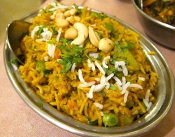 Vegetable briyani