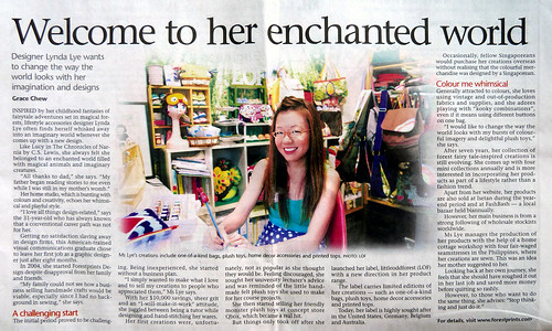 The Straits Times : 12 June 2011