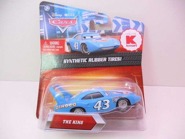 disney cars 2 kmart event 2011 The King rubber tires (1)