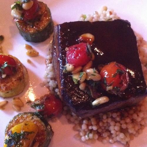 Moroccan Spiced Lamb Shoulder @ Absinthe Brasserie & Bar