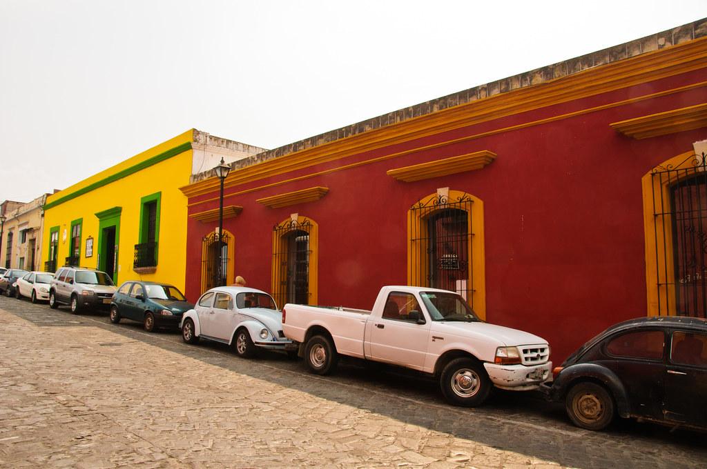 Oaxacan street scene