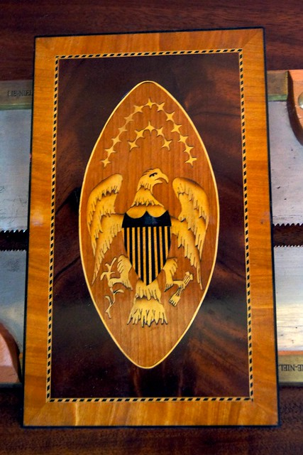 Tool Chest Marquetry