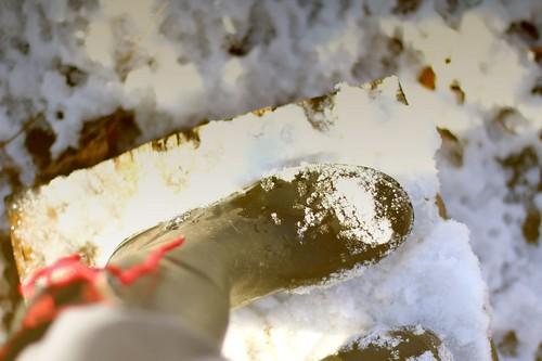 Snow Crunching Boot
