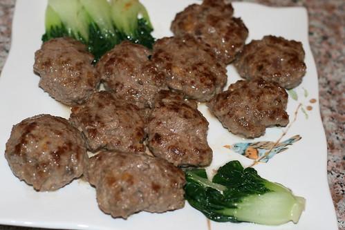蘑菇芝士牛肉餅