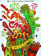 Cartel Carnaval Cadiz 2011