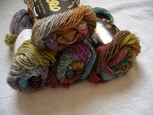 Noro Striped Scarf Yarns