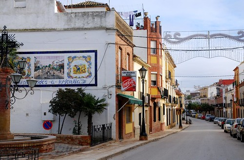 Typical Spanish Small Town