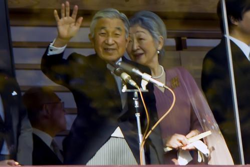 お正月2011 Emperor of Japan 天皇様