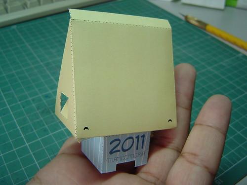 Paper toy finalizado