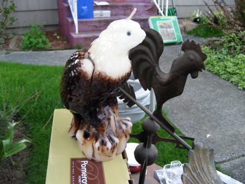 Eagle candle