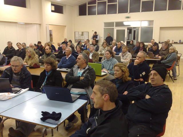 Rural Broadband Meeting, Digby, Lincolnshire