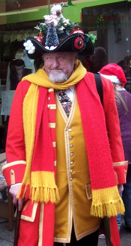 Dickension Festival - Town Cryer