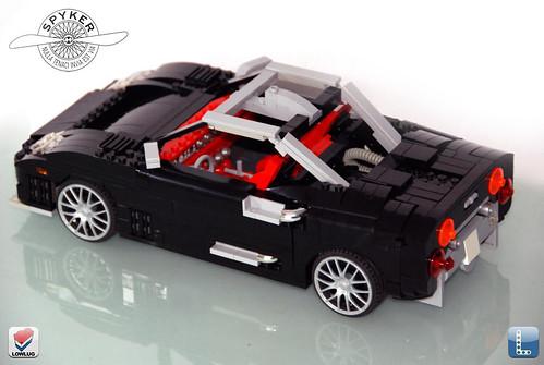 Spyker C8 3/4