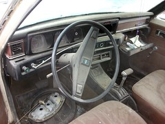 1973 Datsun 610 station wagon interior