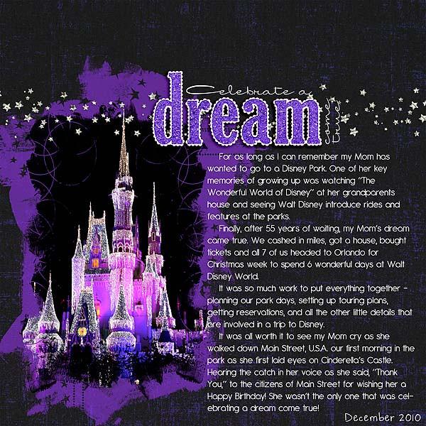 Celebrate a Dream Come True