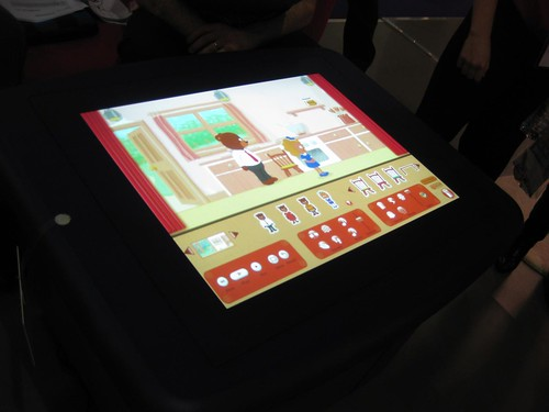 Scholastic Story Stage on Smart Table