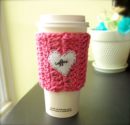 Coffee Love Take-Out Cup Cozy