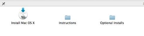Mac OS X Install DVD