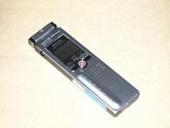 20070902:小さすぎるのも難あり:SANYO ICR-S280RM