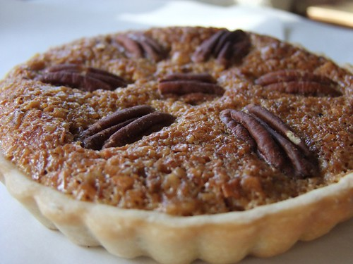 Coconut pecan tartlet
