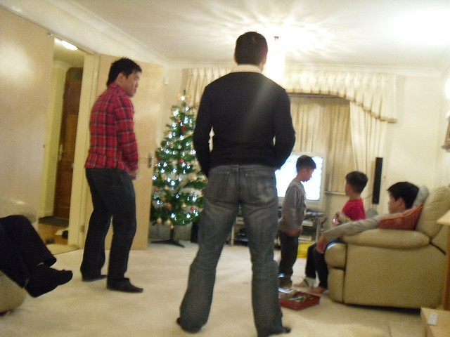 Wii playing
