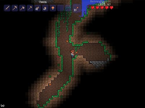 Terraria - Mining