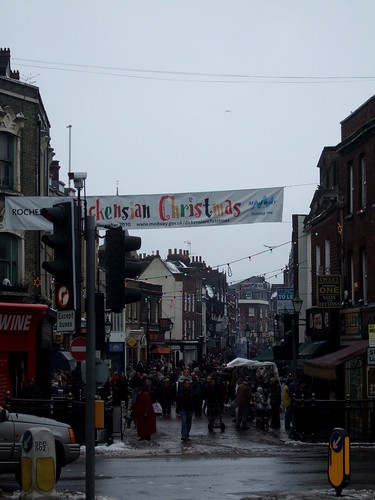Dickension Festival - Rochester High Street