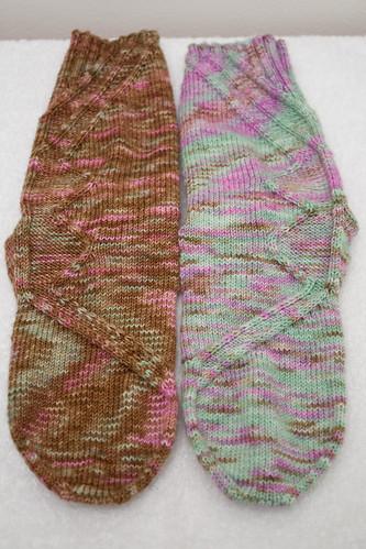 OA Mystery Socks (Front)